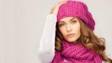 Рожева шапка
