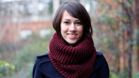 Як зав'язати шарф-хомут?