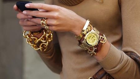 Жіночі браслети золоті