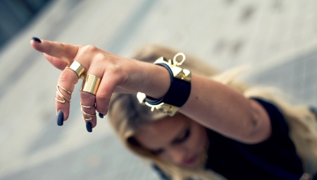 Кільця на фаланги пальців