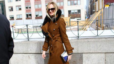 Пальто в стилі мілітарі