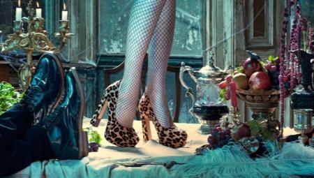 Туфлі з принтом