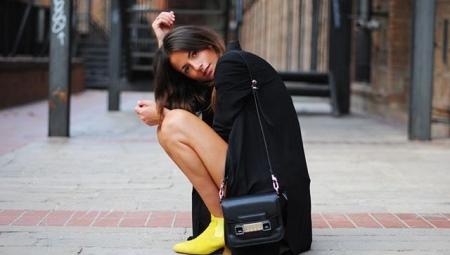 Жовті черевики жіночі