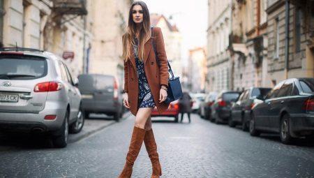 Жіночі замшеві чоботи