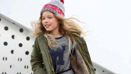 Зимова парку для дівчаток-підлітків