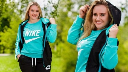 Жіночі спортивні костюми великих розмірів