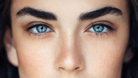 Густі брови: види, нарощування і макіяж