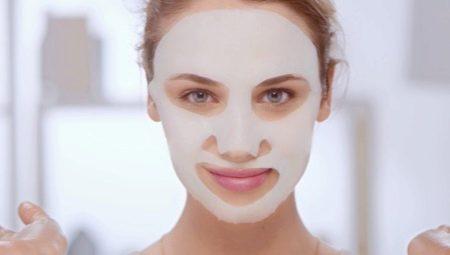 Тканинні маски для обличчя: що це таке і як ними користуватися?
