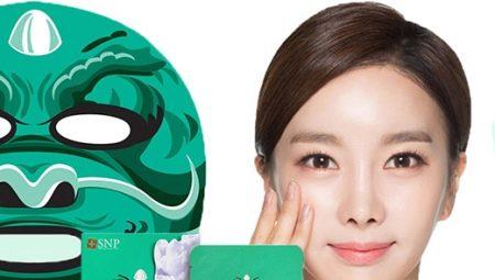 Корейські тканинні маски для обличчя: огляд кращих, поради щодо вибору та використання