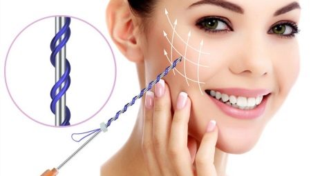 Як правильно використовувати нитки для підтяжки обличчя?