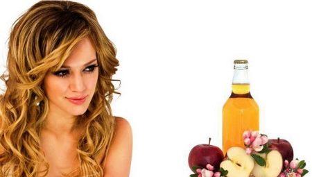 Яблучний оцет для волосся: застосування, користь і шкода