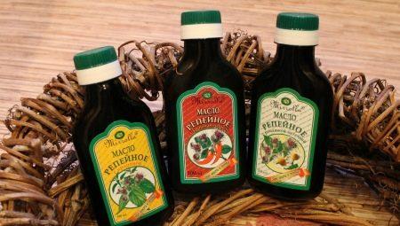Застосування і властивості реп'яхової олії для волосся