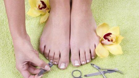 Як правильно стригти нігті на ногах?