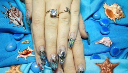 Акваріумний дизайн нігтів: особливості та рекомендації щодо виконання