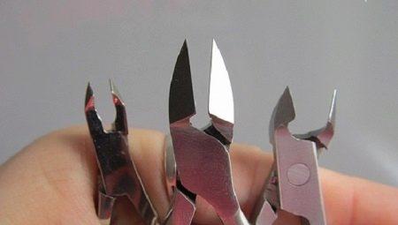 Щипчики для нігтів: як вибрати, правильно використовувати та точити?