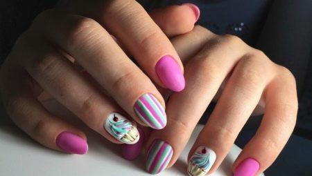 Ідеї манікюру на короткі овальні нігті