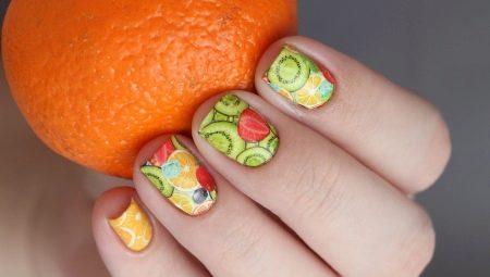 Манікюр з «їстівної» тематикою від фруктів до ягід