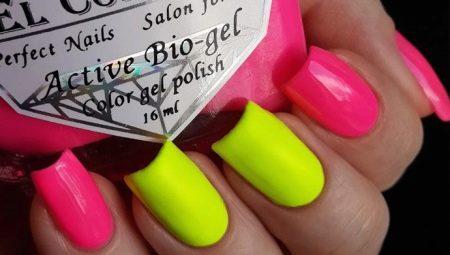 Як красиво оформити нігті в кислотних кольорах?