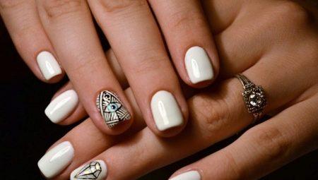 Білий дизайн нігтів: ідеї та модні тенденції