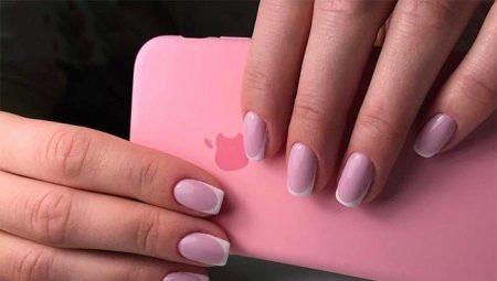 Рожевий френч на нігтях: універсальність і вишуканість
