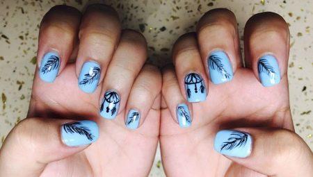 Ловець снів на нігтях: ідеї дизайну і декору