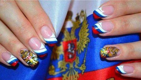 Цікаві ідеї манікюру з прапорами різних країн