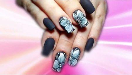 Квіти на нігтях гель-лаком: техніка нанесення та ідеї дизайну