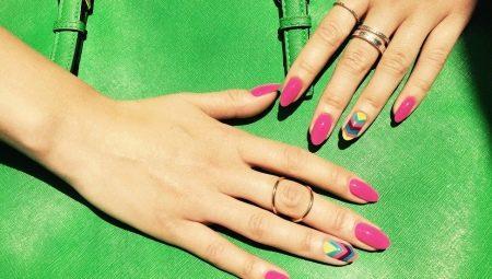 Літній манікюр гель-лаком: модні яскраві кольори і новинки в дизайні