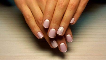 Особливості французького манікюру гель-лаком на коротких нігтях