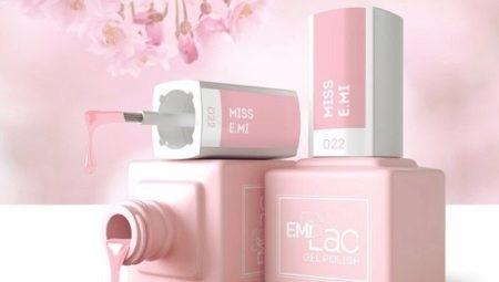 Особливості і палітра відтінків гель-лаку E. MiLac