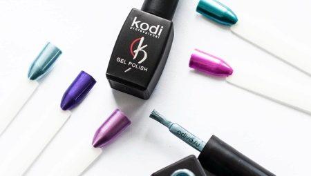 Гель-лак Kodi Professional: склад, види та особливості використання