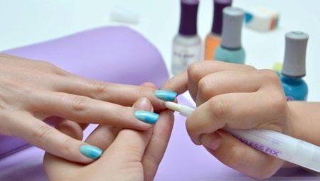 Як прибрати гель-лак з шкіри навколо нігтя після сушки?