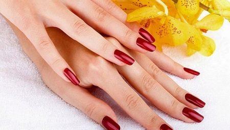 Дизайн довгих нігтів шелаком