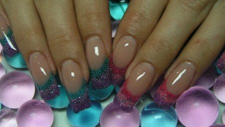 Особливості акваріумного нарощування нігтів