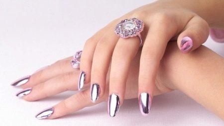 Оригінальні варіанти оформлення однотонних нарощених нігтів