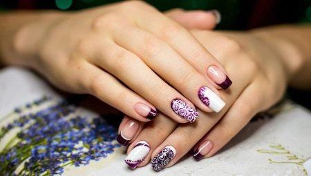 Ідеї стильного дизайну нарощених нігтів