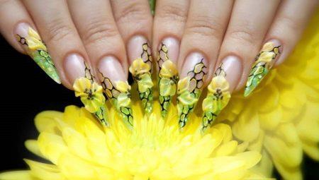 Модні тенденції дизайну гострих нігтів