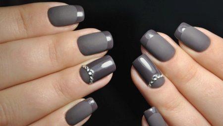 Вибираємо дизайн манікюру для квадратних нігтів