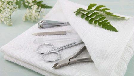 Як і чим стерилізувати інструменти для манікюру?