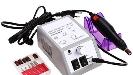 Машинка для манікюру Lina Mercedes 2000: характеристика та особливості застосування