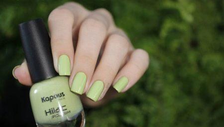 Особливості і палітра кольорів лаків для нігтів Kapous