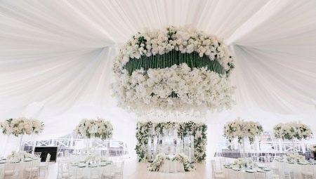 Прикраса залу на весілля: загальні правила, огляд актуальних стилів та поради щодо оформлення