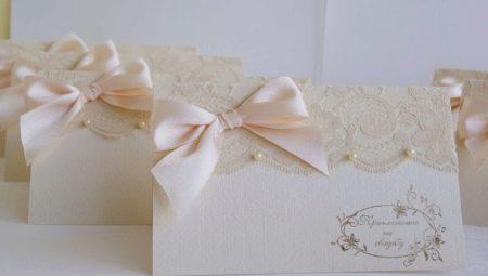 Запрошення на весілля: приклади дизайну і поради по виготовленню