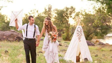 Весілля в стилі «бохо»: опис та цікаві ідеї