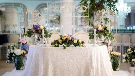 Прикраса весільного столу своїми руками