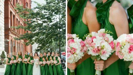 Весілля в зеленому кольорі: значення відтінку та варіанти оформлення торжества