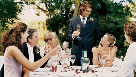 Як висловити подяку родичам на весіллі?