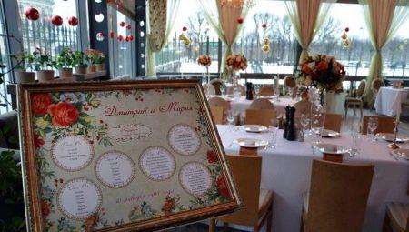 Як правильно розсадити гостей на весіллі?