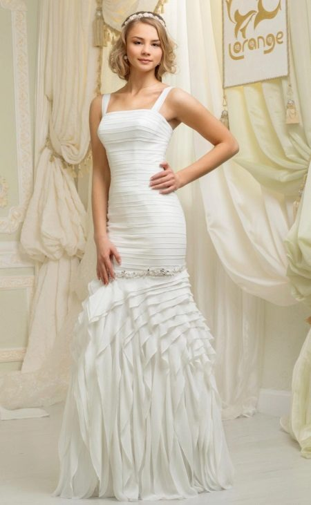 Весільна сукня А-силуету – непышно, але елегантно