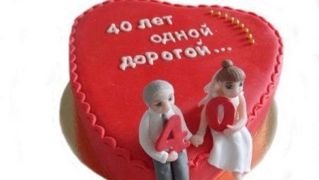 Що дарують на 40 років весілля?